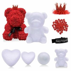 Craft Wedding DIY Flower Rose Ball Bear Polystyrene Styrofoam Party Decors 1 Pc