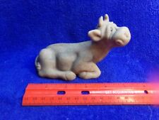 "Quarry Critters Cow ""Casey "" Second Nature Design Figurine"