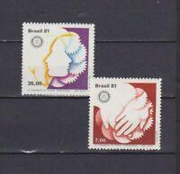 S19027) Brasilien Brazil MNH Neu 1981 Rotary Club 2v
