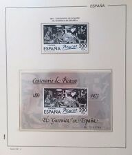 Sellos España 1981 - Centenario Guernika Picasso