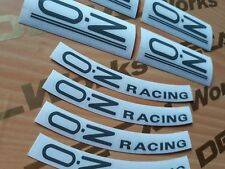 16in Gray OZ Racing Crono Evo Wheel Replacement Mags Decal Sticker