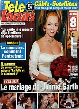 Mag  2001: Mariage de JENNIE GARTH (Beverly Hills)_SERGE GAINSBOURG_CRAIG DAVID
