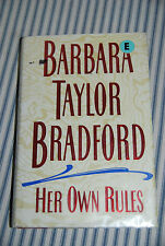 Her Own Rules by Barbara Taylor Bradford (1996, Hardcover) - Romance Ex-Library