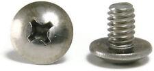 Machine Screws Phillips Truss Head Stainless Steel 1/4-20 x 1/2 Qty 100