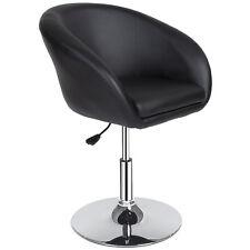 Tabouret de bar chaise fauteuil bistrot réglable pivotant siège design noir