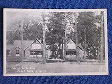 Jacob Lake Az/Jacob Lake Inn & Post Office/Kodak Rppc/Unposted