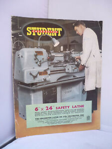 Colchester Student Safety Lathe Illustrated Brochure