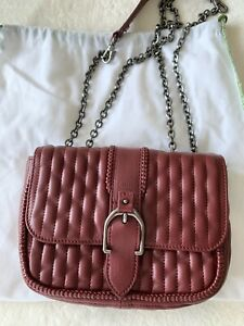 longchamp Leather Crossbody bag - red