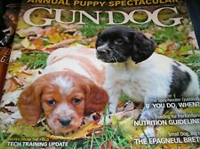 GUN DOG  magazine  march-april-may 2018  annual PUPPY SPECTACULAR     F-2
