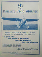 3/1932 PUB AVION DE CHASSE PZL P.VIII P.XI POLAND VARSOVIE POLOGNE ORIGINAL AD