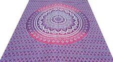 Ombre Couvre-lit indien Jeté de lit Tenture Hippie Boho Décor Coton Inde G1