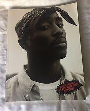 """Tupac Shakur Vibe Magazine By The Editions Three Rivers Publishing 8.5"""" X 11"""""""