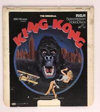 King Kong Original Movie - RCA Selectavision CED Laserdisc