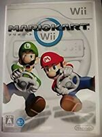 Nintendo Wii  ​​Mario Kart Wii software separately USED