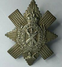 WW2 Black Watch Royal Highland Regiment Cap Badge original