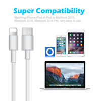 USB 3.1 Type-C USB-C to Lightning Sync Cable Universal For All Apple iPhone