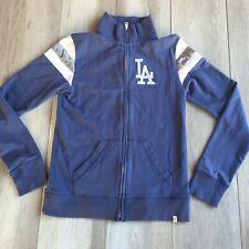 '47 Brand LA Dodgers Women's Size Large Full Zip Sweater Long Sleeve Mock Neck