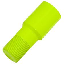 Neon Yellow (single coat) 90+ Gloss Fluorescent Powder Paint (1 lb)