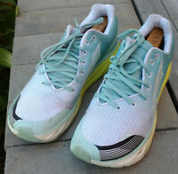Altra Impulse Womens Zero Drop Running Athletic Shoes Lace Up Aqua Blue Size 12