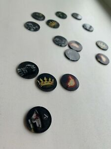Order Tokens for Game of Thrones Printing top quality acrylic Lasting 90 pcs.