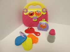 Sesame Street My First Purse Pink Plastic Elmo Zoe Accessories Pretend Play