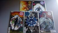 House of X 1 2 3 5 6  1ST MIORA / Pichelli Variant Set Lot X-Men