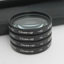 Brand 1 2 4 10 Close Up Macro Filter Set w/ Pouch 40.5mm For Nikon 10mm V1 1