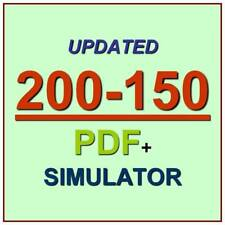 Cisco CCNA Data Center Networking DCICN Test 200-150 Exam QA PDF+Simulator