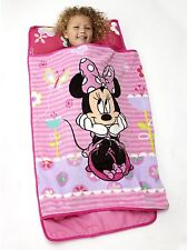 Disney Minnie Mouse Baby Toddler Nap Mat Kids Blanket Roll Daycare Sleeping Bag