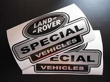 LAND ROVER DEFENDER Aftermarket Special Vehicles Sticker kit set wing decals