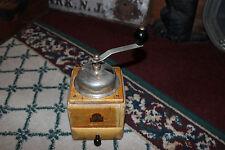 Vintage Armin Trosser Coffee Grinder-Wood-Lovely Country Decor-LQQK