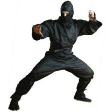Black Ninja costume Uniform medium size 3