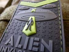 JTG  ALIEN INVASION X-Files, Tactical Unit Patch, AREA-51, naval-gid / JTG 3D Ru