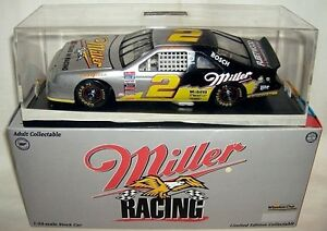 action 1/24 #2 MILLER SILVER RUSTY WALLACE 1996 T-BIRD
