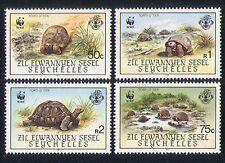 Zil Elwannyen Sesel (Seychelles) 1987 WWF/Tortoise/Nature/Animals 4v set n32823