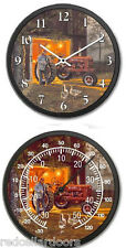 New FARMALL H Tractor Clock and Thermometer Set DAVE BARNHOUSE Common Ground
