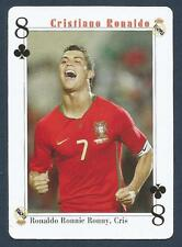 PLAYING CARD-FAR EAST ISSUE-CRISTIANO RONALDO-MANCHESTER UNITED-REF #8C
