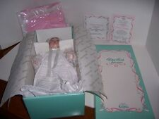 "Edwin M Knowles Baby Book Treasures ""Catherine's Christening"" Porcelain Doll"