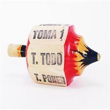 Pirinola Toma todo Wood Medium size Mexican Traditional Toy Handmade New