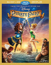 The Pirate Fairy (Blu-ray  DVD + Digita Blu-ray