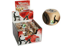 KAMA SUTRA WOODEN DICE GAME - Saucy Adult ROMANTIC FUN. Xmas gifts