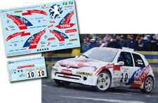 C122 Decal 1:43 Garcia Ojeda PEUGEOT 106 Maxi Rally El Corte Ingles 2001