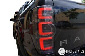 LED Tail Lights for Ford Ranger 2012-2021 Smoked Rear Tail Lamp T6 T7 Models
