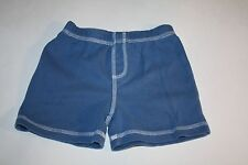 Infant Boys Small Wonders Blue Shorts  Size 3-6 months