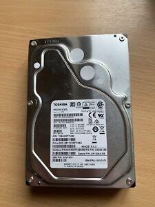 "Toshiba MG03ACA300 3TB 3.5"" Internal SATA Hard Drive"