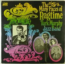 """12"""" LP-TURK MURPHY'S JAZZ BAND-The many faces of Ragtime-c2822-Cleaned"""
