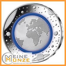 5 Euro Münze BLAUER PLANET ERDE 2016 Deutschland Stempelglanz Kapsel Polymerring
