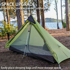 2021 New Version Ultralight Camping 4 Season Inner Tent Silnylon Rodless Tent