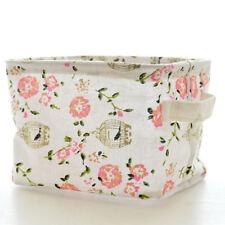 Folding Storage Box Fabric Cube Drawer Organizer Cloth Basket Bag Container MA