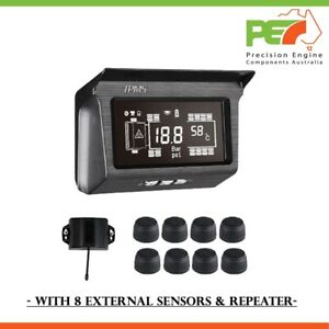 New Tire Pressure Monitor System for Western Star Truck 8 Sensors Solar TPMS